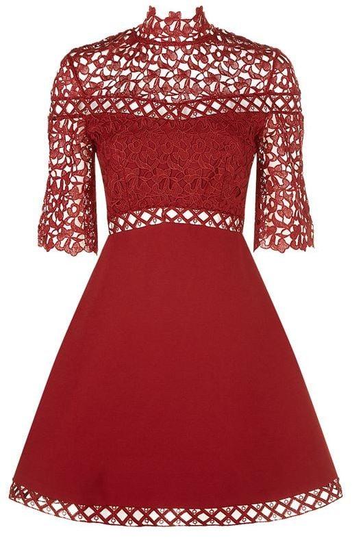 31c097152c79 Keepsake The Label Uplifted Lace Dress