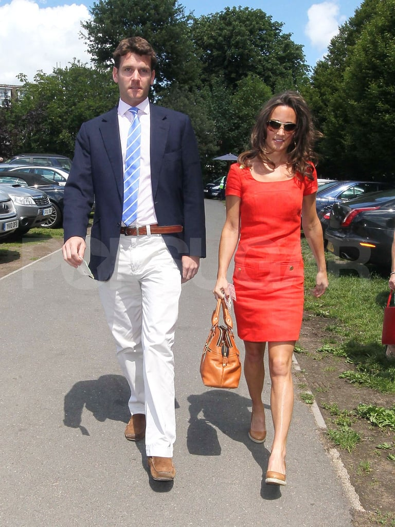 Pippa Middleton and Alex Loudon together.