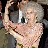 Duchess of Alba and Alfonso diez Carabantes