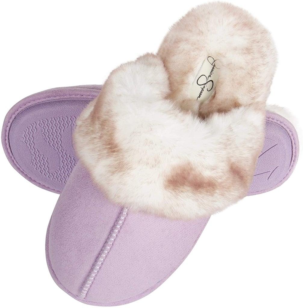 Jessica Simpson Memory Foam Women's House Slippers in Lavender