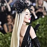 Rita Ora Crown at the Met Gala 2018