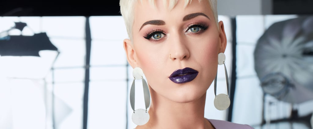 Katy Perry Says Her Shiny New Product Will Make Your Lips Look Bigger