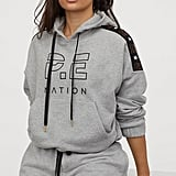 H&M x P.E. Nation Cotton Hoodie and Cotton Sports Shorts