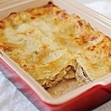 Vegetarian Mushroom Leek Lasagna