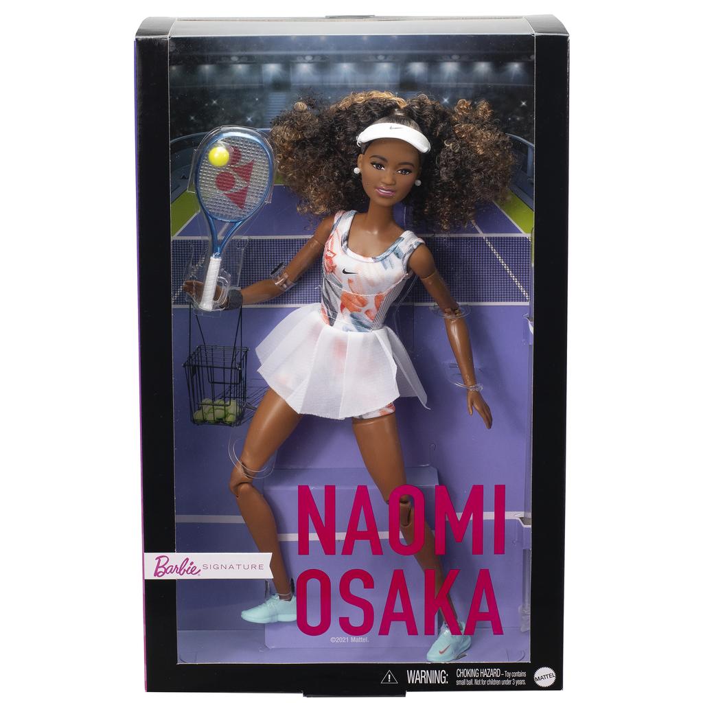 Naomi Osaka Barbie Role Model Doll