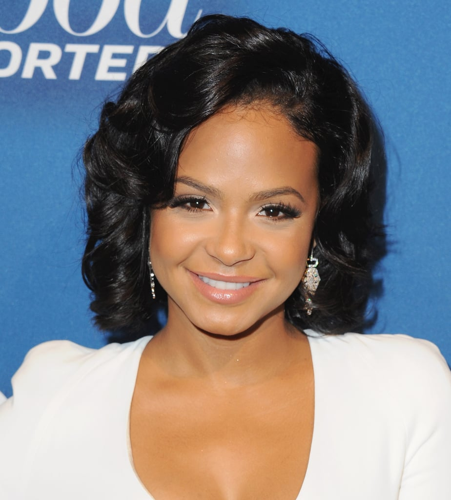 Christina Milian Curly Bob Latina Celebrity Haircuts