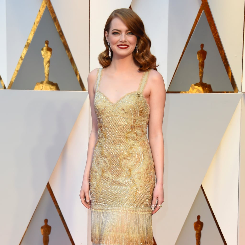 Emma Stone's Givenchy Dress at 2017 Oscars