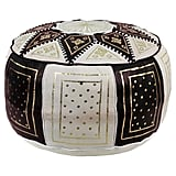 Get the Look: Carnuel Moroccan Leather Pouf