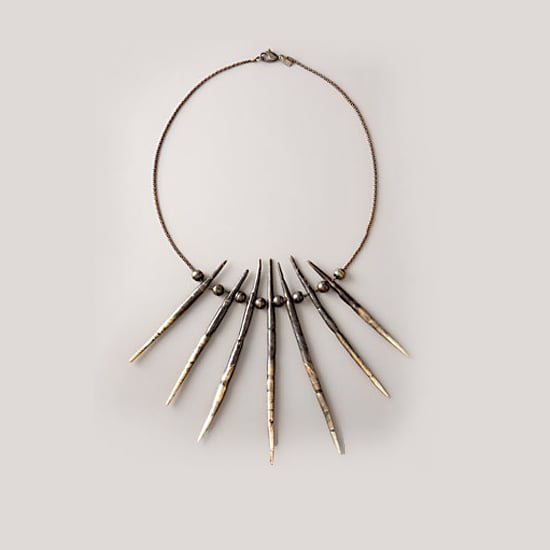 Pamela Love Seven Porcupine Needle Necklace, $690