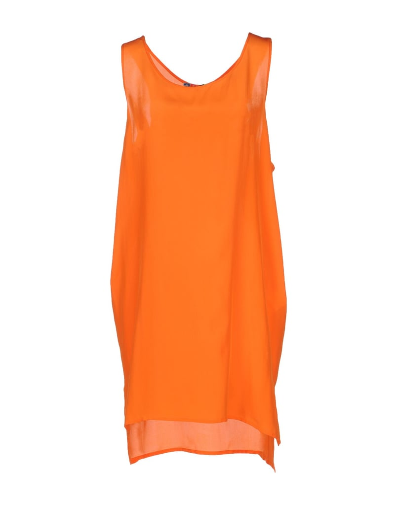 MSGM Short Orange Dress ($173)