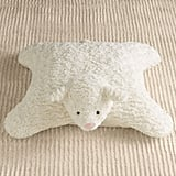 Plush Lamb Floor Pillow