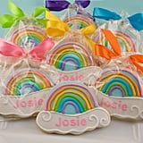 Personalized Rainbow Sugar Cookies