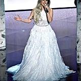 Lady Gaga Performing at the 2015 Oscars