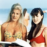 Donna Martin and Brenda Walsh