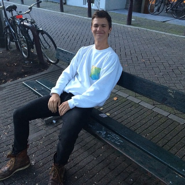 When He Revisited the Bench From TFIOS