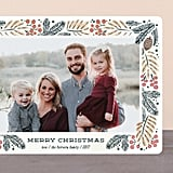 Foliage Wreath Card from Minted ($1-$3 per card)