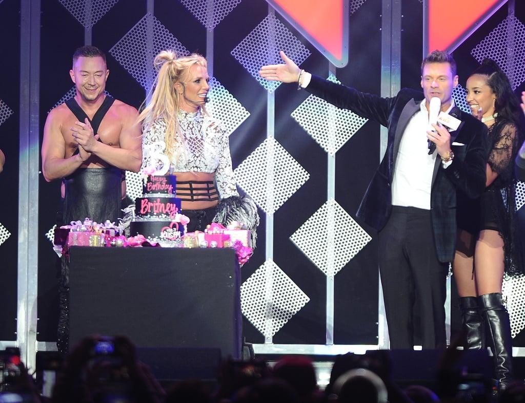 Britney Spears 35th Birthday At Jingle Ball Concert 2016 Popsugar
