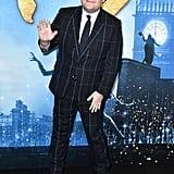 جيمس كوردين خلال العرض العالمي الأول لفيلم Cats في نيويورك