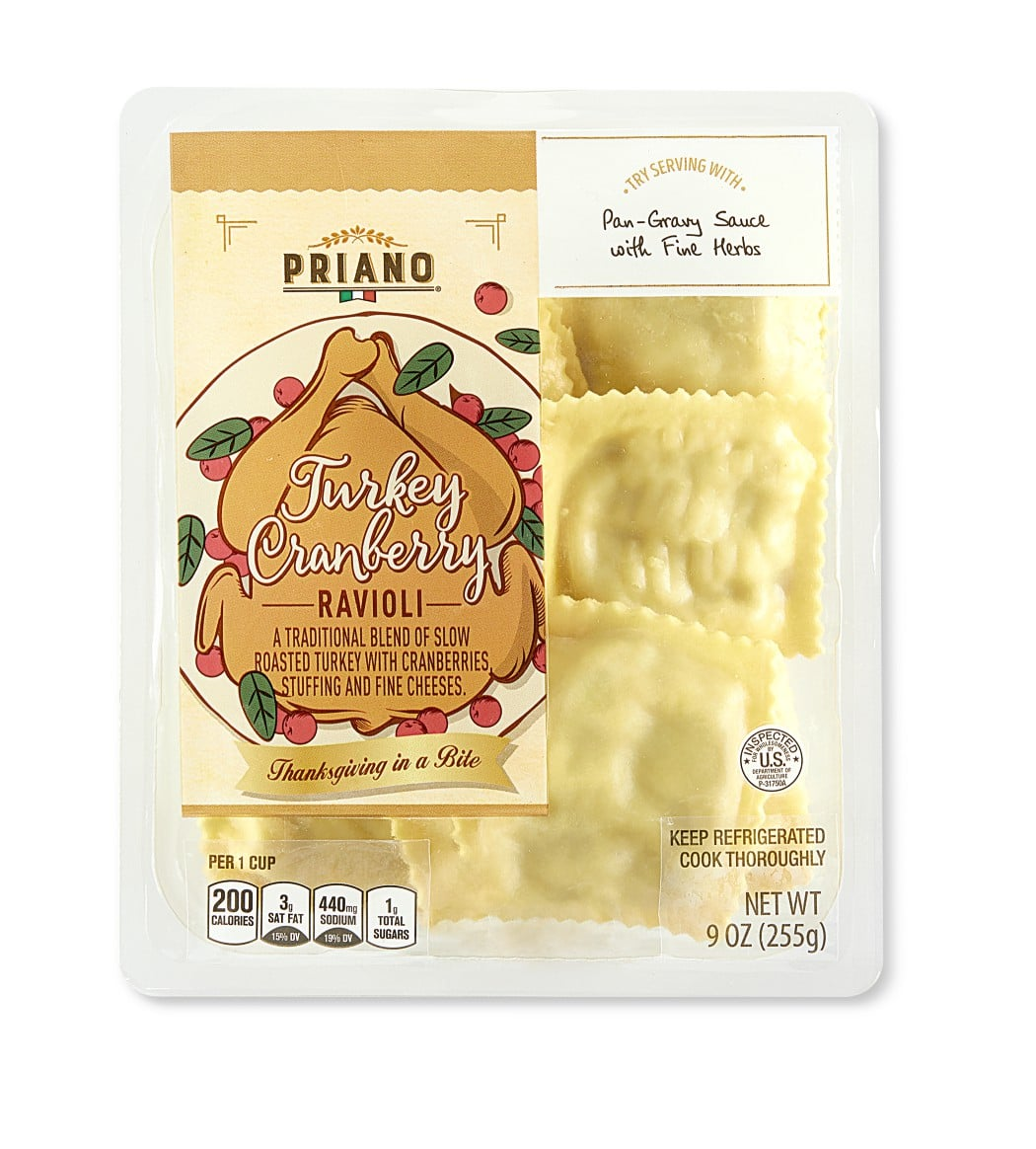 Aldi Thanksgiving ravioli