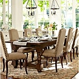 The details on thesePottery BarnCalais Chairs($464) are similar to those on Caitlyn's chairs.