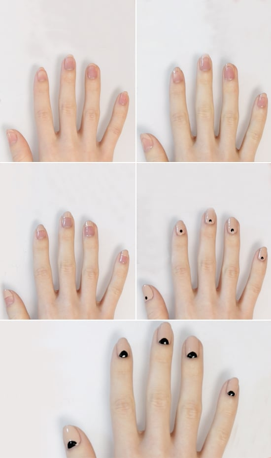 Neutral Nail Art DIY