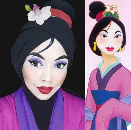 Cartoon-Inspired Makeup From Instagram