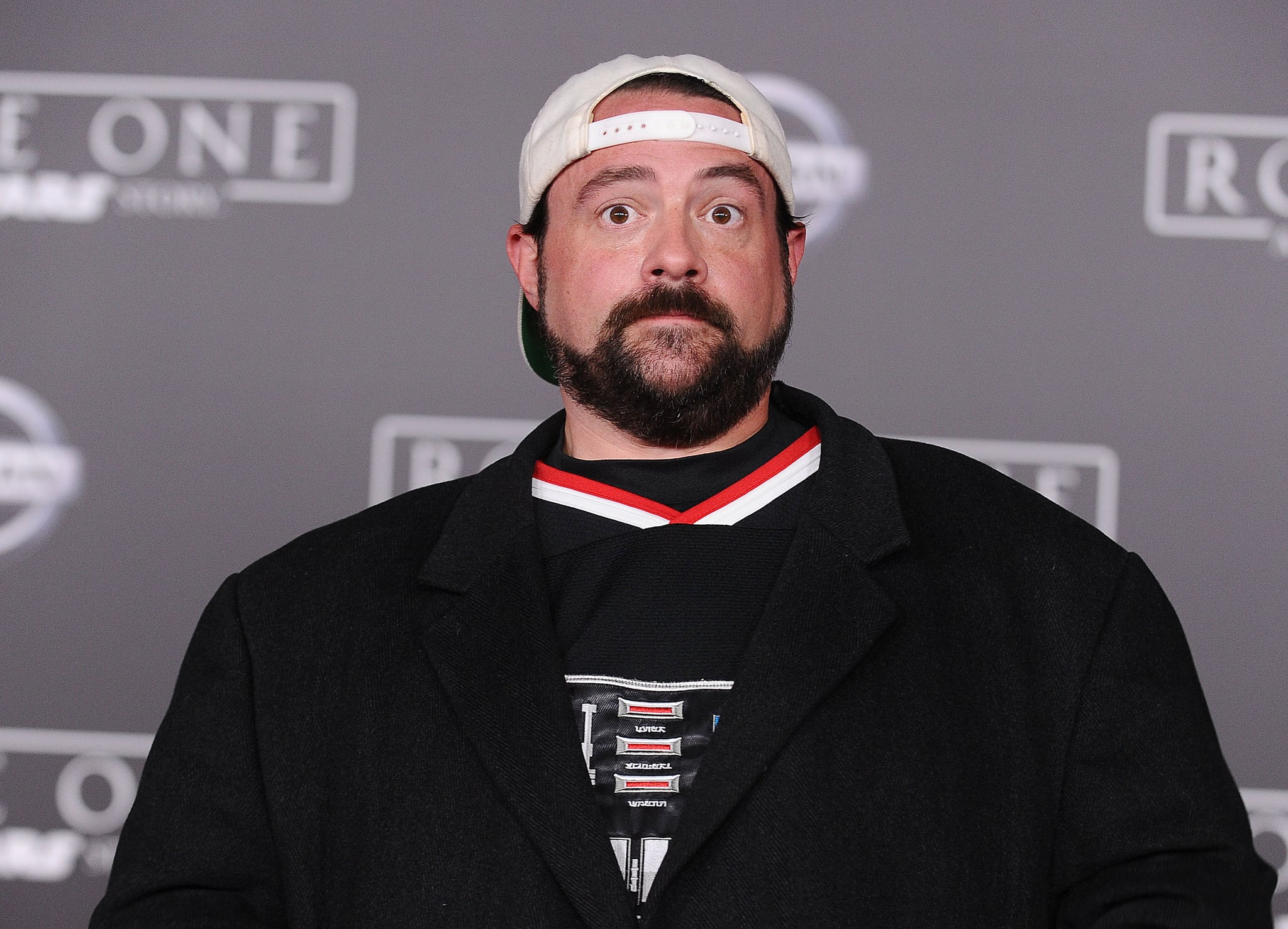 HOLLYWOOD, CA - DECEMBER 10:  Actor/director Kevin Smith attends the premiere of