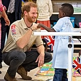 Prince Harry and Meghan Markle With Kids in Southern Africa