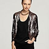 Velvet By Graham & Spencer Dixon Ombre Sequined Open Blazer ($195)