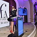 Sia and Christian Siriano at the Daily Front Row Fashion Awards