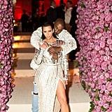 Pictured: Kim Kardashian and Kanye West