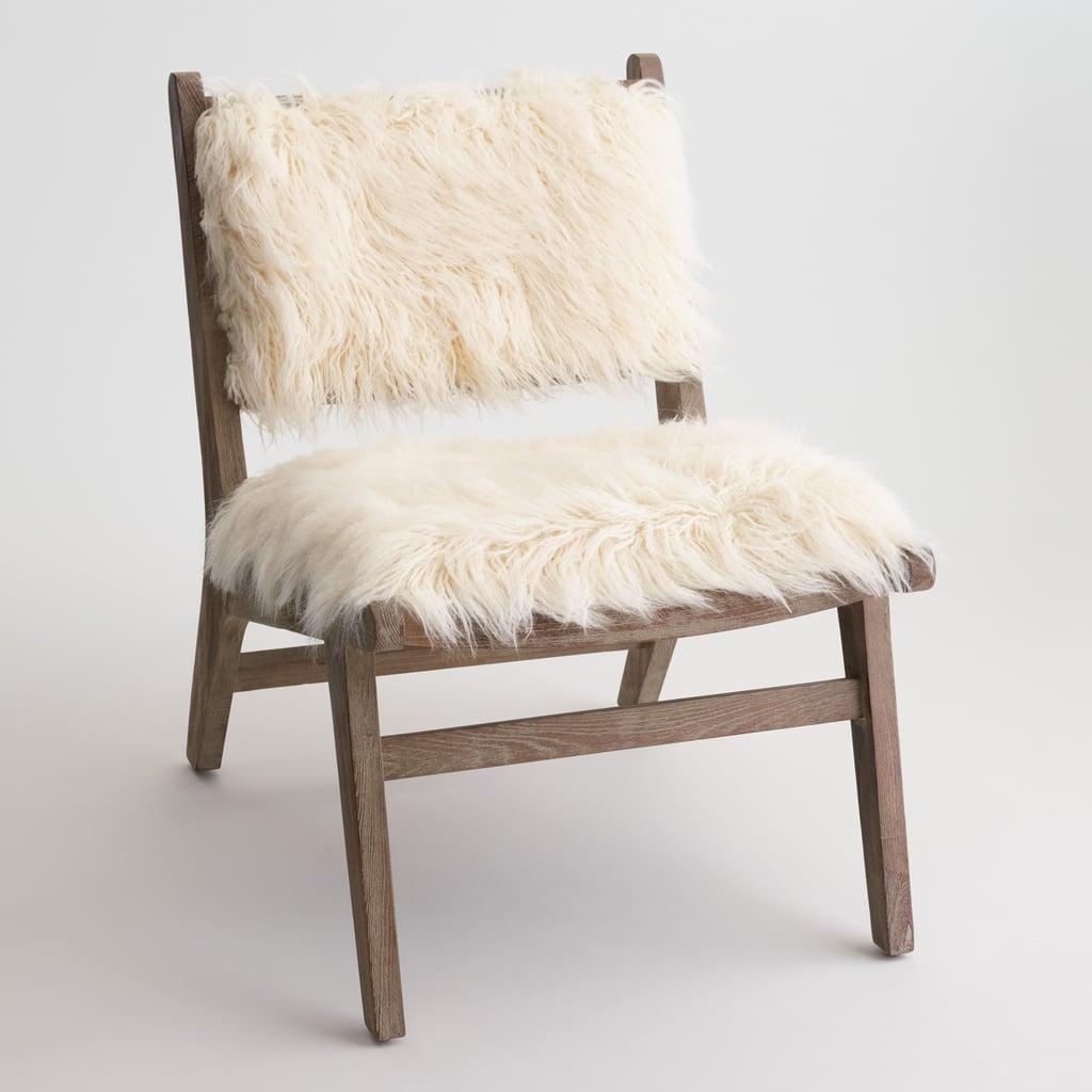Faux Flokati Gunnar Chair ($280)