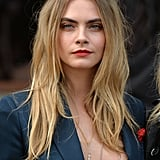 Cara Delevingne's Beachy Ombré Blond Waves, 2014