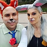 Judy Hopps and Nick Wilde From Zootopia