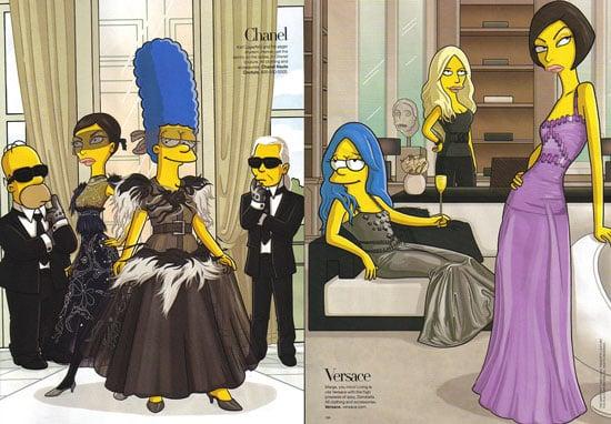 The Simpsons Get Tres Chic in Paris