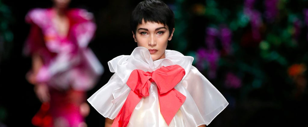 Bella Hadid Is So Completely Unrecognizable on This Runway