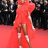 Winnie Harlow at the 2019 Cannes Film Festival