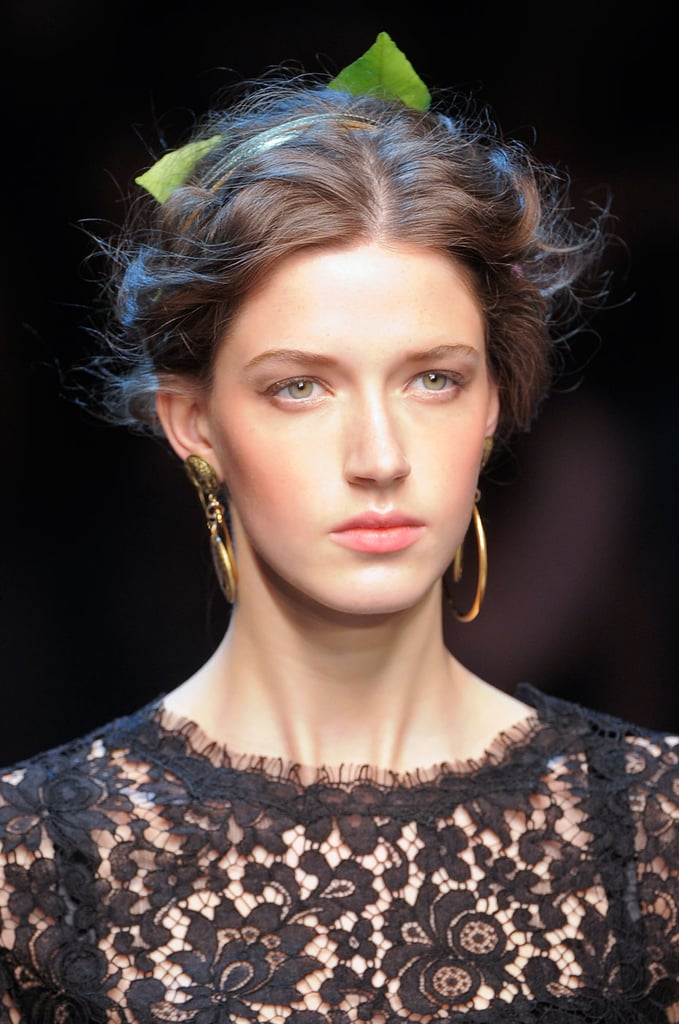 751de5e7 Dolce & Gabbana Beauty at 2014 Spring Milan Fashion Week | POPSUGAR Beauty  Australia
