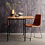 Box Frame Drop-Leaf Expandable Table