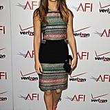 Jennifer Lawrence attended the 2013 AFI Awards.