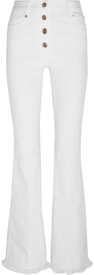 Sonia Rykiel High-Rise Button Fly Flared Jeans ($670)