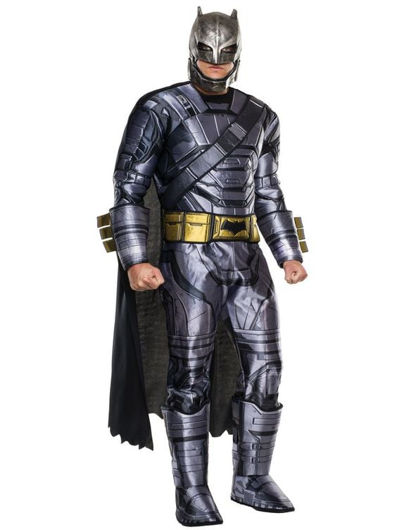 Dawn of Justice Deluxe Batman Armored Costume ($43)