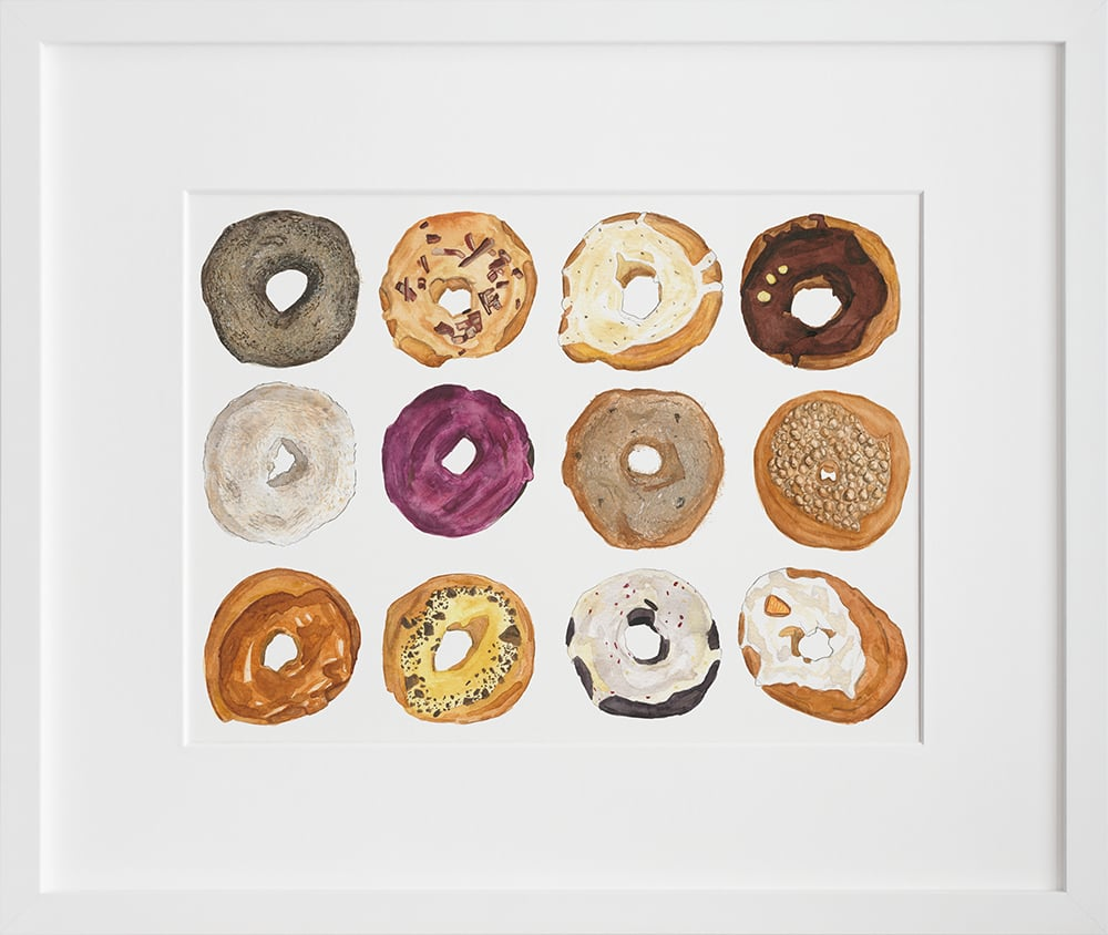 A Dozen Dynamic Donuts by April Walters ($24 — $1,200)