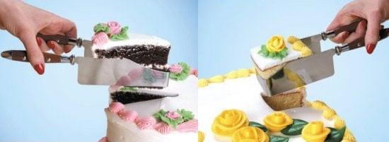 Cut Cake With Kake Kut'rs