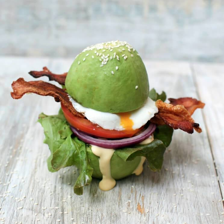Egg Sandwich With Avocado Buns Recipe | POPSUGAR Fitness ...