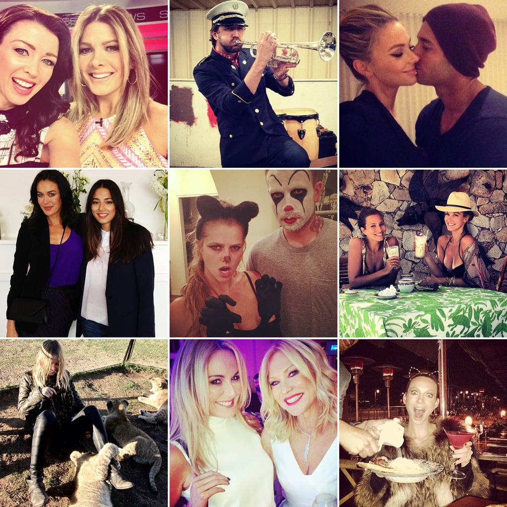 Celebrity Twitter and Instagram Pictures Week August 2 2013