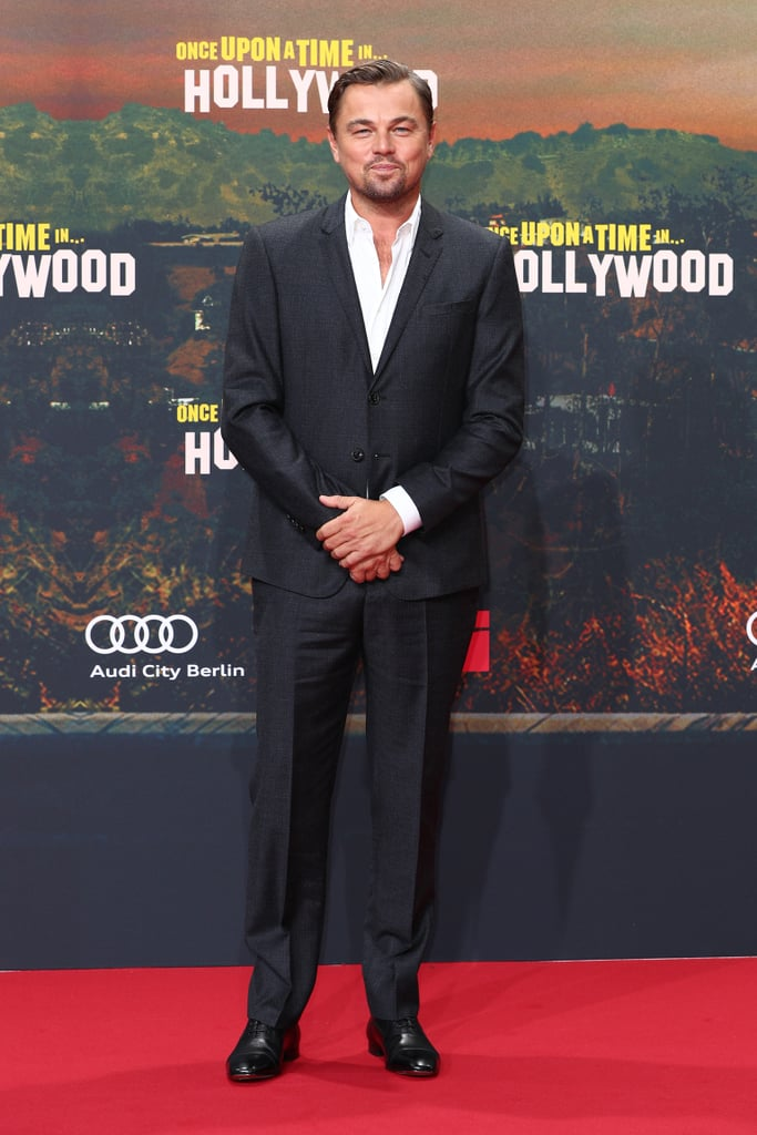 Leonardo DiCaprio at the Berlin premiere of Once Upon a Time in Hollywood.