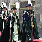 Prince William was honored at the Thistle Ceremony in Edinburgh.