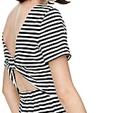 This Kate Spade Stripe Dress ($198) features a open twist back.