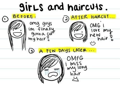 Comic: Girls and Haircuts